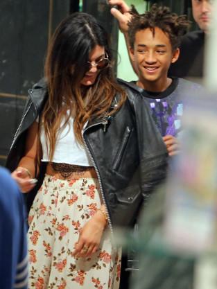 Kylie and Jaden