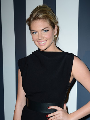 Kate Upton in Black