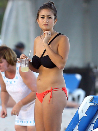Catherine Giudici Bikini Photo