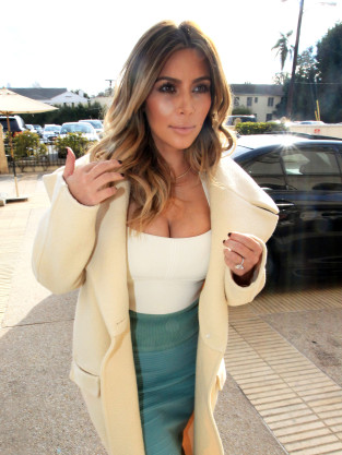 Kim Kardashian: So Much Cleavage