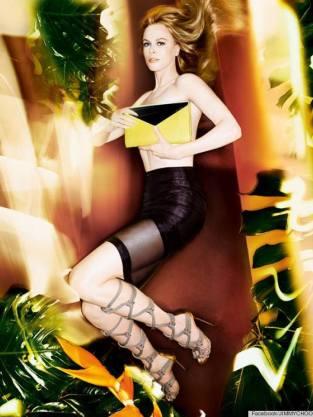 Nicole Kidman Topless Ad