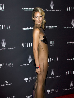 Lady Victoria Hervey at the Golden Globes