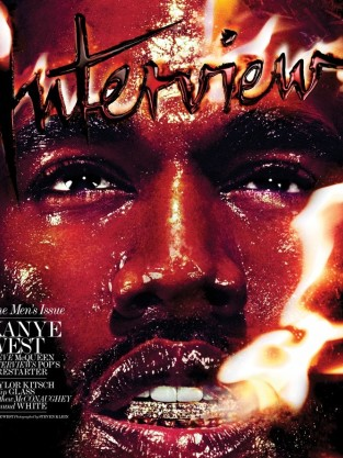 Kanye West Interview Cover