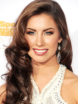 Katherine Webb With Makeup