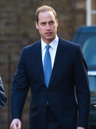 Prince William in a Suit
