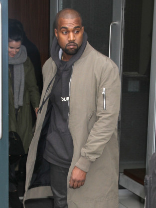 Kanye West at Rockefeller Center