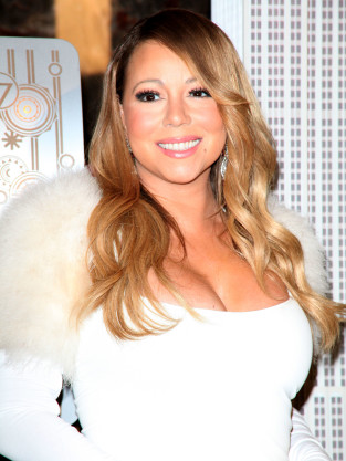 Mariah Carey White Dress Photo