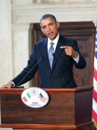 President Obama in Rome