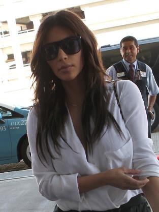 Kardashian at LAX