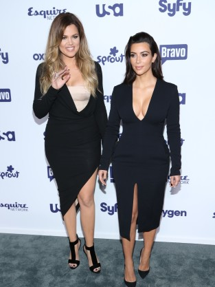 Khloe and Kim in NYC
