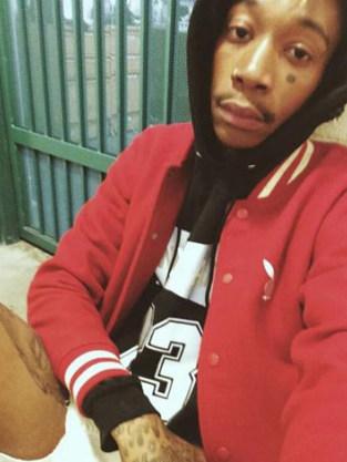 Wiz Khalifa Jail Selfie