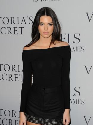 Kendall Jenner in a Short Dress