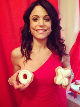 Bethenny Frankel with Dessert