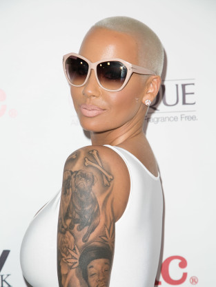 Amber Rose Tattoo Photo