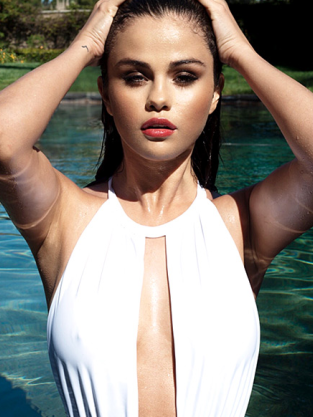 Selena Gomez Swim Suit