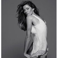 Black and White Gisele
