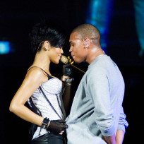 Chris Brown and Rihanna Picture