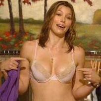 Jessica Biel in Lingerie