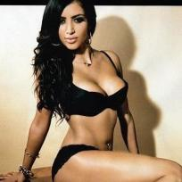 Kim Kardashian Lingerie Pic