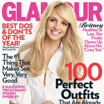 Britney Spears Glamour Cover