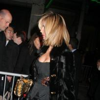 Heidi Klum Arrives at 'Circus' release party
