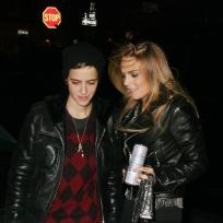 Lohan-and-ronson-night-out