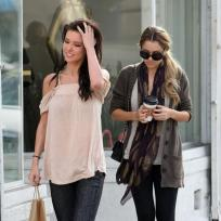 Audrina and Lauren Shop