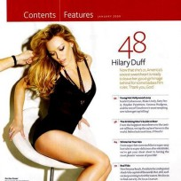 Hilary Duff in Maxim