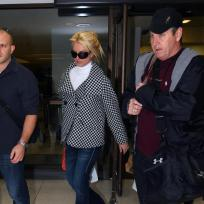 Britney and Jamie Spears at LAX