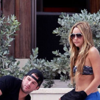 Doug Reinhardt and Amanda Bynes