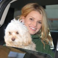 Jessica Simpson and Daisy Photo
