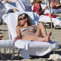 Whitney port bikini photo