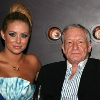 Aubrey oday and hugh hefner
