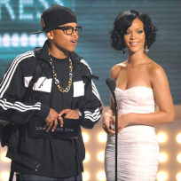 Old School Rihanna and Chris Brown