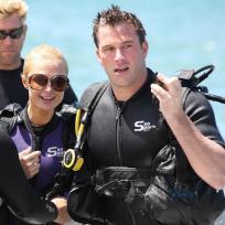 Scuba diving diva