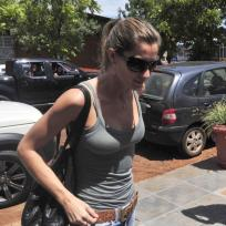 Gisele in Brazil