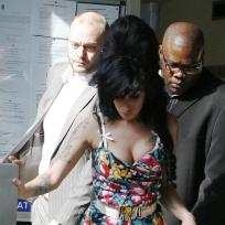 Amy Winehouse Cleavage Pic