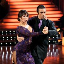 Gilles Marini and Cheryl Burke Tango