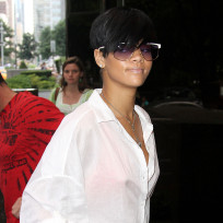 Rihanna's White Top