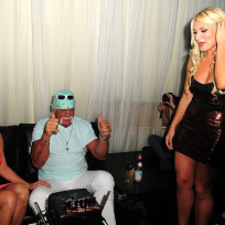 Brooke hogan birthday party