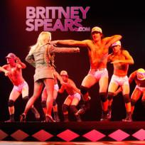 Britney Spears, Half-Naked Dancers