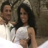 Katie price wedding pic