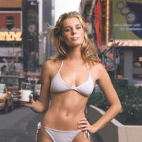 Rebecca romijn got milk