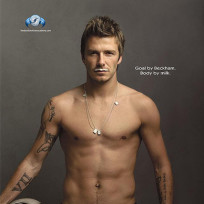 David beckham got milk