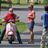 Kate Gosselin and Paul Teutul