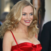 Heather graham cleavage