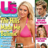 Stephanie Pratt: Bulimic