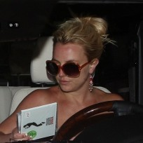 Britney-in-the-car