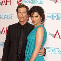 Matthew McConaughey and Camila Alves Picture