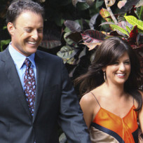 Jillian Harris and Chris Harrison